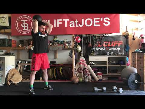 Standing Fatbell Tricep Extensions