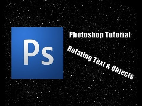 Photoshop Rotating Text Tutorial