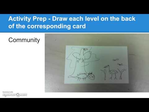 Intro to Ecosystems Lesson - A Demo for Teachers