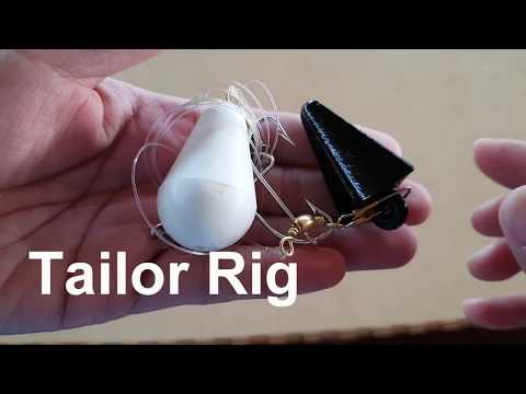 How to Tie a Tailor Fishing Rig - Super Simple Hook Set Up
