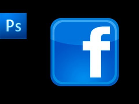 Photoshop Tutorial: Create a Facebook Icon  -HD-