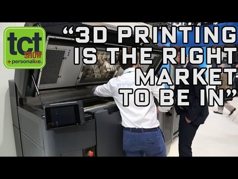 HP on UK debut for Jet Fusion 3D printing at TCT Show