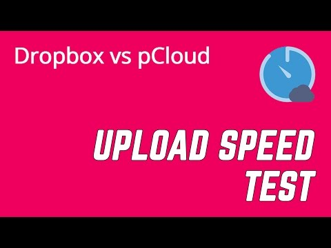 Dropbox vs. pCloud Speed Test & Pricing Comparison