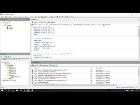 Proc datasets in SAS