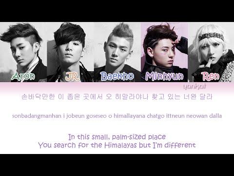 Face - NU'EST (Color Coded Han|Rom|Eng Lyrics)