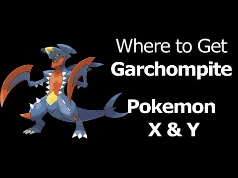 Where to find Garchompite Pokemon X Y Garchompite Mega Garchomp Item Garchompite