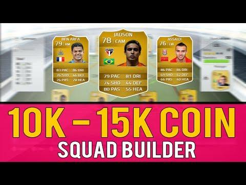 FIFA 14 Ultimate Team | Squad Builder | 10K - 15K Amazing Skill Squad | FT. 4 Five Star Skillers!