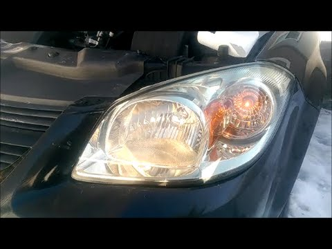 How To: Chevy Cobalt Headlight Replacement