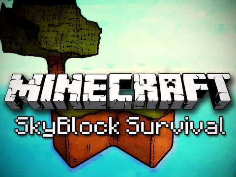 Minecraft: SkyBlock Survival Ep. 2 - Water and Wood
