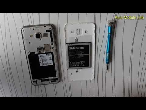How to change front speaker Samsung galaxy J5