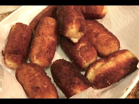 How to Make Panzerotti's (Italian Potato Croquettes)