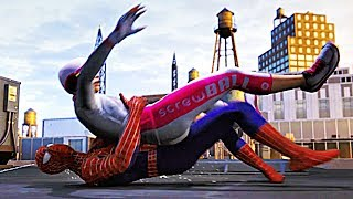 Download SPIDER-MAN PS4 Silver Lining DLC Screwball Gets Arrested Scene (SPIDERMAN PS4) Video