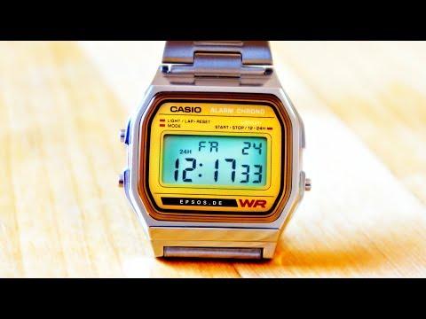 Digital CASIO watch review.