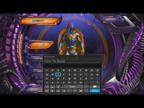 DC Universe Online Character Creation (PS4)