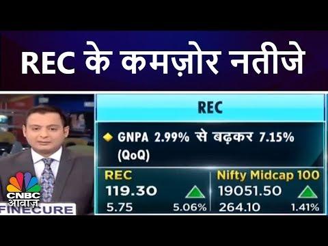 REC के कमज़ोर नतीजे   Stock In News   29th May   CNBC Awaaz