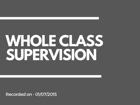 Teaching Assistant SEN Resources | Whole Class Supervision
