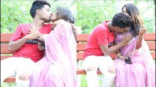 Kissing Prank HOT BHABHI prank dial with call girl gone wrong ki (kiss and bbs press) 🙈