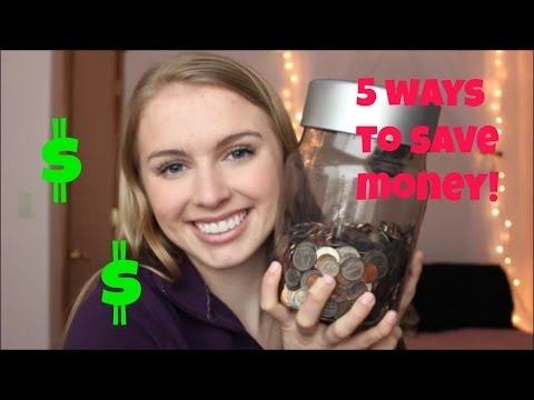 5 Easy Ways to Save Money!