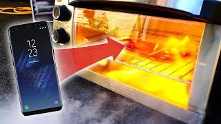 Will Galaxy S8 Explode in Extreme Heat Test?