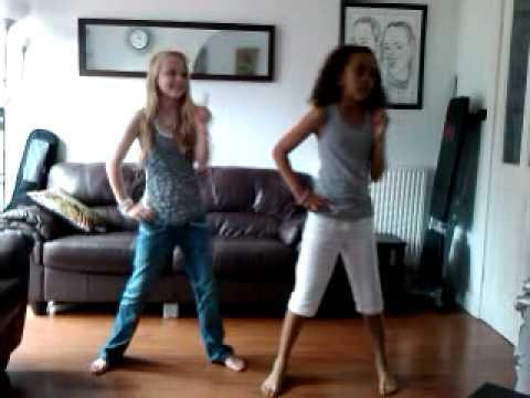 Ellie and Amira-Single ladies dance choreography