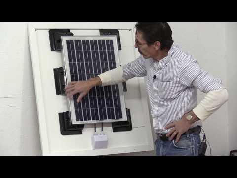 Missouri Wind and Solar Adjustable Solar Panel Rack