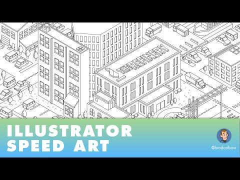 Adobe Illustrator Speed Art - The Refinery