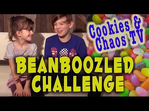 BEAN BOOZLED CHALLENGE YouTube Kids | Cookies & Chaos TV