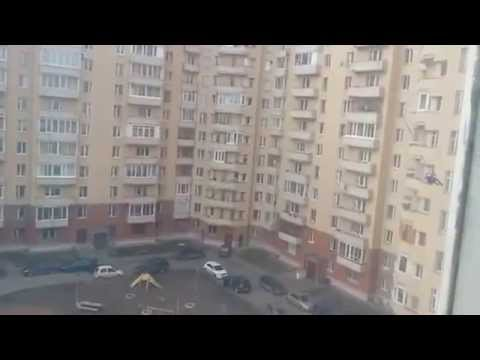 Russian Daredevil Jumps Off Building Roof