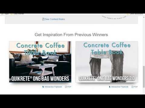 enter Quikrete one bag wonder contest challenge $5000 1st prize