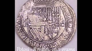 Rare Atocha Coins, Nuestra Señora de Atocha and Margarita Coins