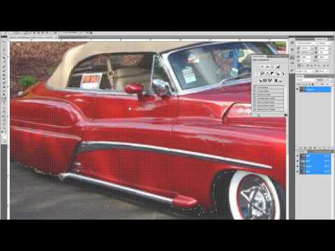 Photoshop CS5 : How to Change Car Color Easy and Fast