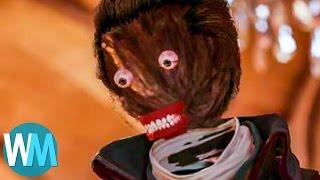 Top 10 Super Creepy Glitches in Video Games!