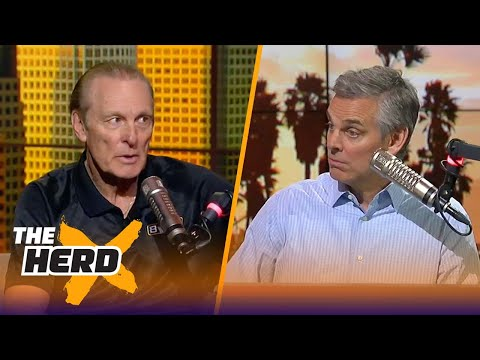 Rick Barry joins Colin Cowherd to talk Warriors ahead of the 2018 NBA Playoffs   THE HERD