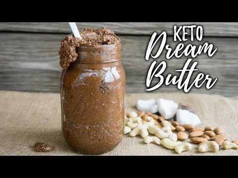 Homemade Almond Butter | Dream Butter | Creamy Keto Almond Butter Recipe