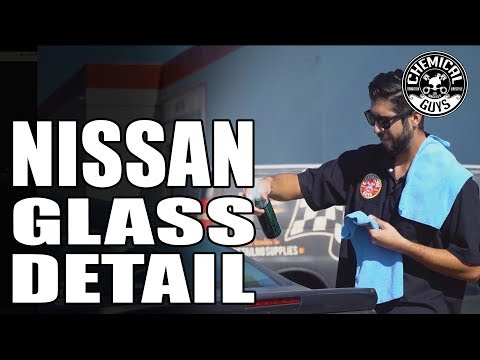 How To Seal Glass To Prevent Water Spots | Nissan Versa - Chemical Guys Car Care