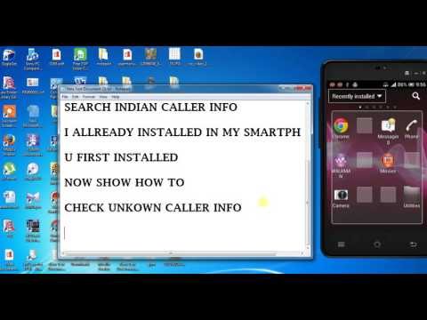 How to Find  Unknown Caller Info.....