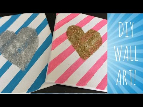 DIY Room Decor/Wall art!