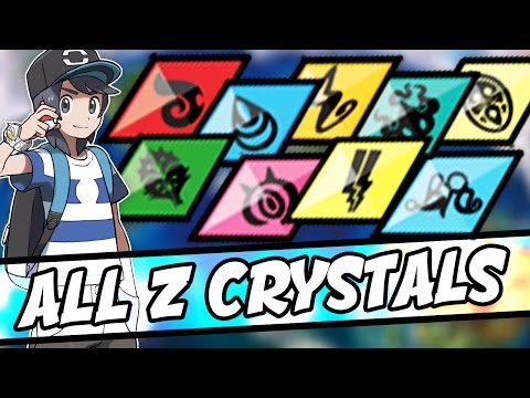 ALL Z CRYSTAL LOCATIONS IN POKEMON SUN AND MOON – How to get ALL Z CRYSTALS in Pokémon Sun and Moon