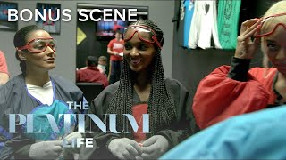"""Crystal Finds a Way Out of Indoor Skydiving on """"The Platinum Life"""" 