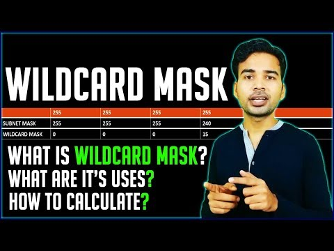 What is Wildcard Mask in Networking, It's uses & How to calculate wildcard mask