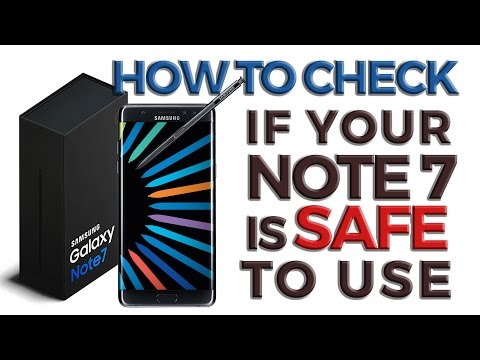How to Identify if Your Galaxy Note 7 Needs to be Recalled