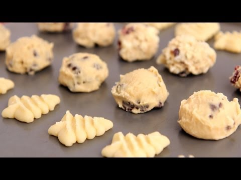 How to Freeze & Bake Homemade Cookie Dough - Laura Vitale - Laura in the Kitchen