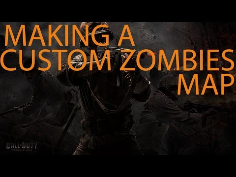 Making A Custom Zombies Map - Adding Zombies, The Start Zone, and Path Nodes