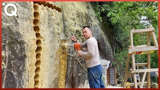 Man Digs a Hole in a Mountain and Turns it Into an Amazing Apartment
