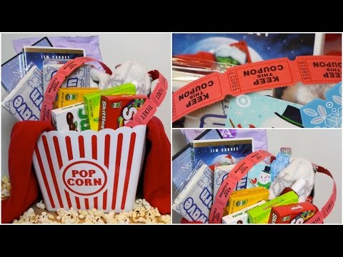 DIY- MOVIE NIGHT GIFT BASKET