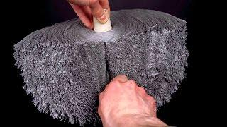 Download ASMR Spool of yarn being cut in half (satisfying) Video