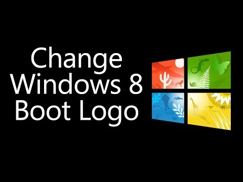 Custom Boot Logo in WINDOWS 8 and 8.1! - EASY!
