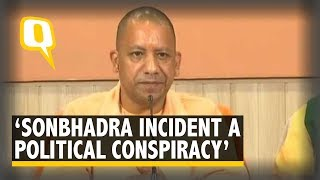 Download 'Sonbhadra Shoot-out a Political Conspiracy by Congress, SP': Yogi Adityanath Video