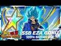 THE BEST SSB GOKU 100 EZA SSB Goku Showcase DBZ Dokkan Battle