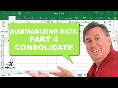 Learn Excel - Consolidate - Podcast 2190